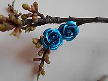 Náušnice - Náušnice - ruže - 9394045_
