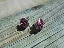 Náušnice - Náušnice - ruže - 9394050_