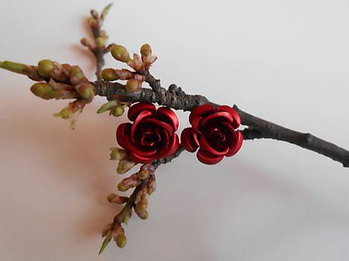 Náušnice - ruže