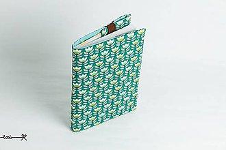 Papiernictvo - Obal na knihu otvárací - tulipány - 9390759_
