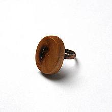 Prstene - Čerešňový kalus oválny - 9391335_