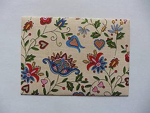 Papiernictvo - obálka folklór 3 - 9396095_