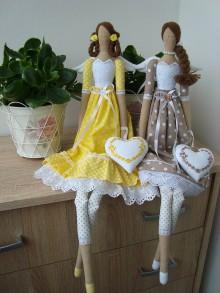 Bábiky - Anjelky na želanie - 9396156_