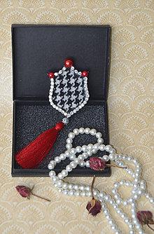 Odznaky/Brošne - Brošňa v tvare erbu - 9395685_