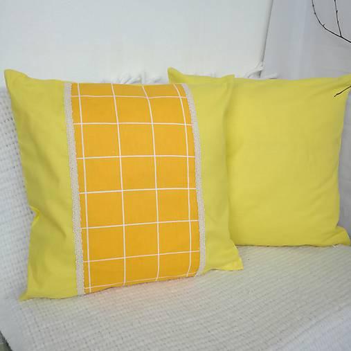 Dekoračné vankúše (Žltá)