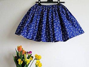 Detské oblečenie - detská folk sukňa - 9396950_