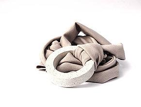 Náhrdelníky - betónový náhrdelník BASIC - 9395002_