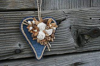 Dekorácie - šiško-srdce11 - 9396305_