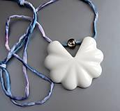 Náhrdelníky - Porcelain Soul (silk) - 9397287_
