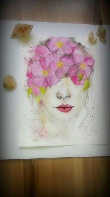 Obrazy - Kvety v očiach - 9395760_