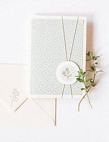 Papiernictvo - Pastelový pozdrav pre Teba - 9395784_