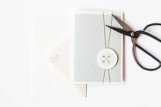 Papiernictvo - Pastelový pozdrav pre Teba III. - 9395861_
