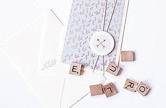Papiernictvo - Pastelový pozdrav pre Teba Violet - 9395966_