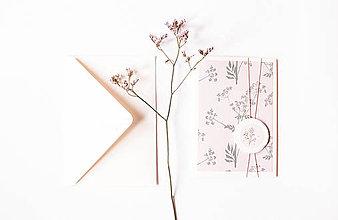 Papiernictvo - Pastelový pozdrav pre Teba Pink - 9396063_