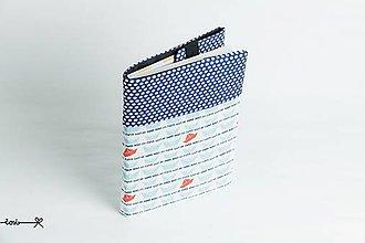 Papiernictvo - Obal na knihu otvárací - papierové loďky - 9395460_