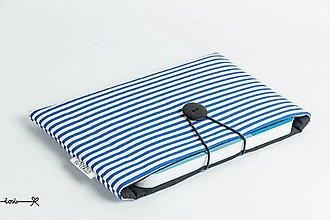 Papiernictvo - Obal na knihu - námornícky modrý - 9395470_