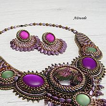 Náhrdelníky - Korálkový náhrdelník 589-0052 - 9400328_