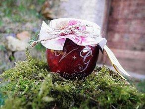 Darčeky pre svadobčanov - Darček pre svadobčanov, gravírovaný pohárik, iniciály s dátumom - 9399014_