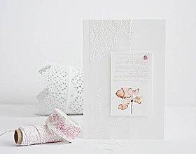 Papiernictvo - Narodeninový pozdrav - akvarelové kvety III - 9397519_