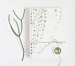 Papiernictvo - Receptár - popínavé rastliny - 9397808_