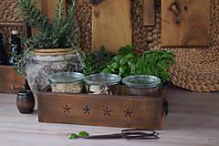 Nábytok - Debnička na koreničky z hruškového dreva - 9399375_
