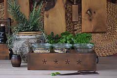 Nábytok - Debnička na koreničky z hruškového dreva - 9399381_