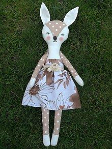 Hračky - srnka Bambi  / bábika / 43 cm - 9398485_