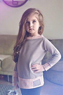 Detské oblečenie - Jarná rastúca mikina (Šedá) - 9397322_