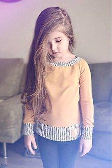 Detské oblečenie - Jarná rastúca mikina (Žltá) - 9397329_