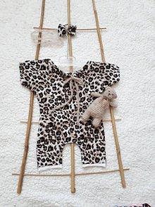 Detské oblečenie - Overalik s doplnkami :  na fotenie newborn - 9398083_