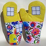 Úžitkový textil - Chňapky: Varím s láskou - 9399285_