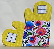 Úžitkový textil - Chňapky: Varím s láskou - 9399287_