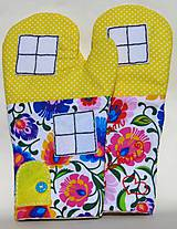Úžitkový textil - Chňapky: Varím s láskou - 9399288_