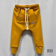 Detské oblečenie - Žlté pudláče veľkosť 80-104 - 9398240_