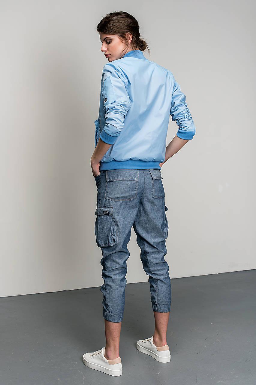 Bomber Bunda Blue Divine   Divarush - SAShE.sk - Handmade Kabáty 181734527d