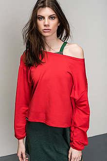 Mikiny - Crop Top Burning Rush - 9403255_