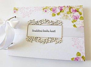 Papiernictvo - svadobná kniha hostí - 9401794_