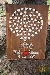 Obrazy - Svadobný bike 80 ľudí - 9402822_