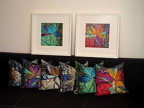 Úžitkový textil - Vankúše 6ks Crystal aspirin na objednávku - 9403153_