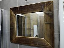 Zrkadlá - Zrkadlo so starého dreva - 9402061_