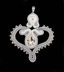 Iné šperky - Prívesok Srdce - 9401133_