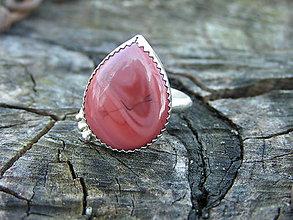 Prstene - Strieborny prsteň Ag925 Imperial jaspis - 9402818_