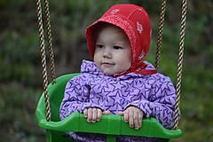 Detské čiapky - čepček folk - 9401513_