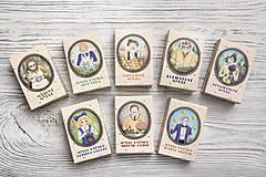 Drogéria - Prvorepublikové mydlo s príbehom: Levanduľové mydlo 100g - 9401080_