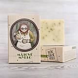 Drogéria - Prvorepublikové mydlo s príbehom: Mätové mydlo 100g - 9403569_