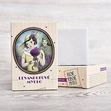 Drogéria - Prvorepublikové mydlo s príbehom: Levanduľové mydlo 100g - 9401079_