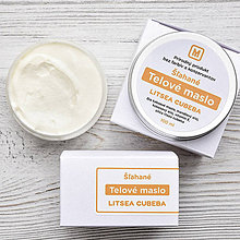 Drogéria - Šľahané telové maslo: LITSEA CUBEBA 100 ml - 9402995_