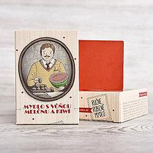 Drogéria - Prvorepublikové mydlo s príbehom: Melón a kiwi 100g - 9403506_