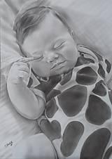 Kresby - Ukážka kresby A3  čiernobiela - 9403704_