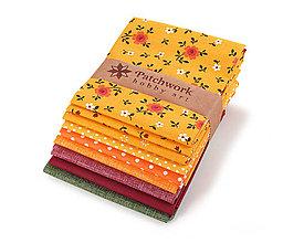 Textil - Bavlnené látky - balíček TFQ115 - 9403029_